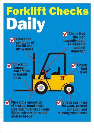 forklift safety standards